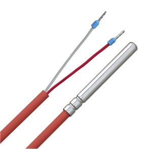 SILICONE//200 ° C Pt1000 temperatura sensore PT 1000 1,5m
